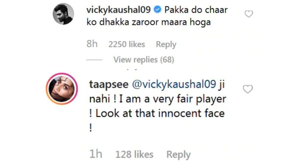 Taapsee-Pannu-trolled-By-Vicky-Kaushal-In-Her-Latest-Instagram-Post-entertainment-Bollywood-DKODING