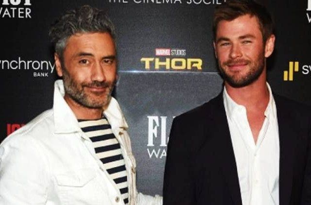 Taika-Waititi-Chris-Hemsworth-Thor-4-Hollywood-Entertainment-DKODING