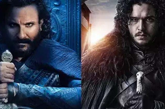 Saif Ali Khan copies Jon Snow