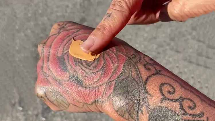 new foundation covers tattoo