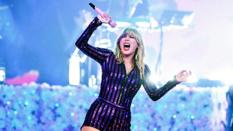 Taylor Swift steals the show at 2019 Amazon Prime concert