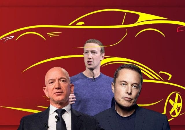 Bezos, Musk, Zuckerberg, Page Or Brin: The Cars That World's Top Tech Billionaires Drive