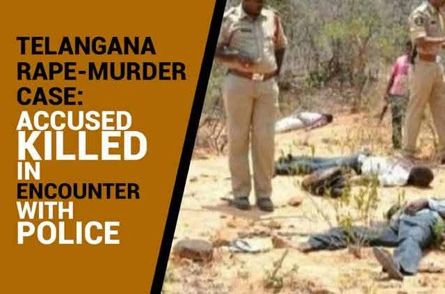 Telangana-rape-murder-case-Accused-killed-in-encounter-with-police-Videos-DKODING