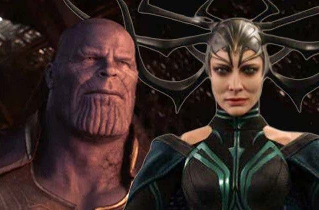 Thanos and Hela Romance
