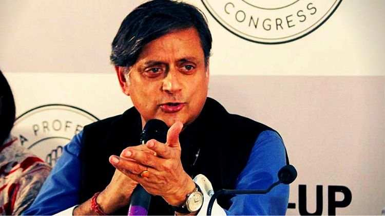 Tharoor-Calls-BJP-A-Sinking-Ship-As-It-Swings-Into-Celebratory-Mode-India-Politics-DKODING
