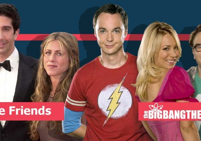 TBBT' did not get the same recognition as 'Friends'
