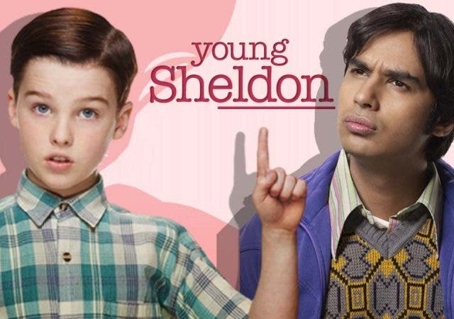 The Big bang Theory Young Sheldon