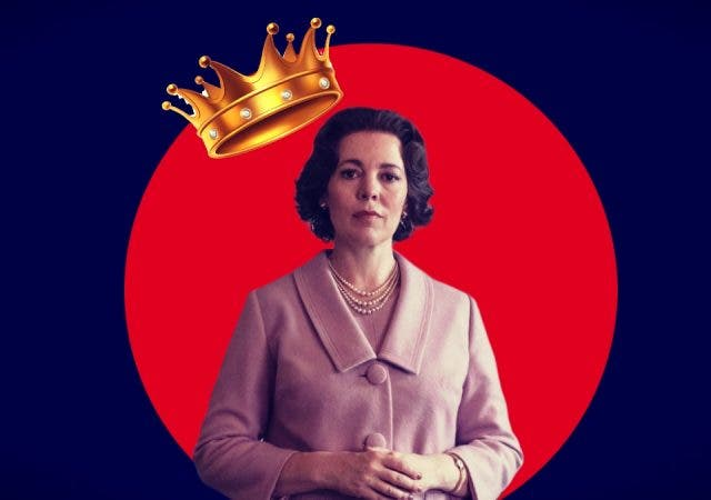 Elizabethan Expression Olivia Colman in The Crown