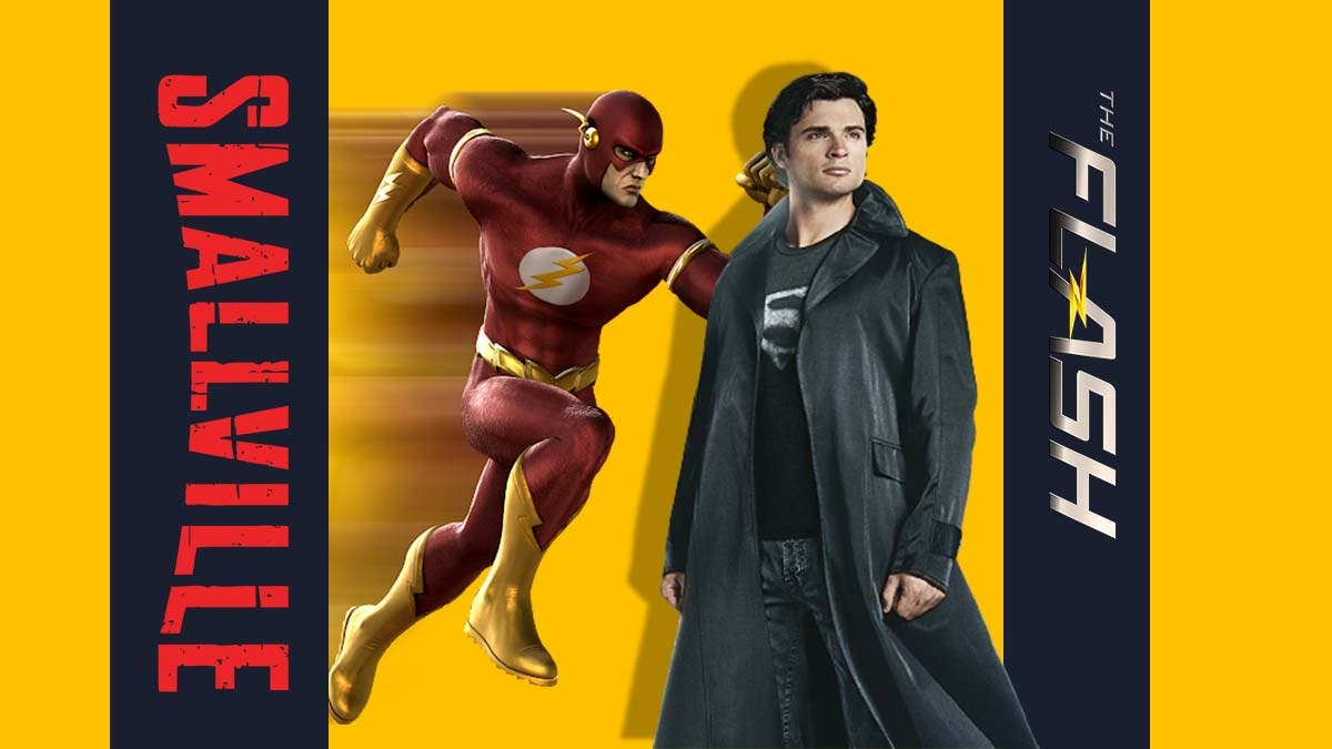 Smallville The Flash movie confirmed