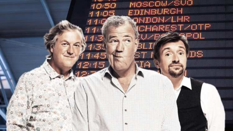 Tricky International Travel Forces The Grand Tour Season 4 Off Track