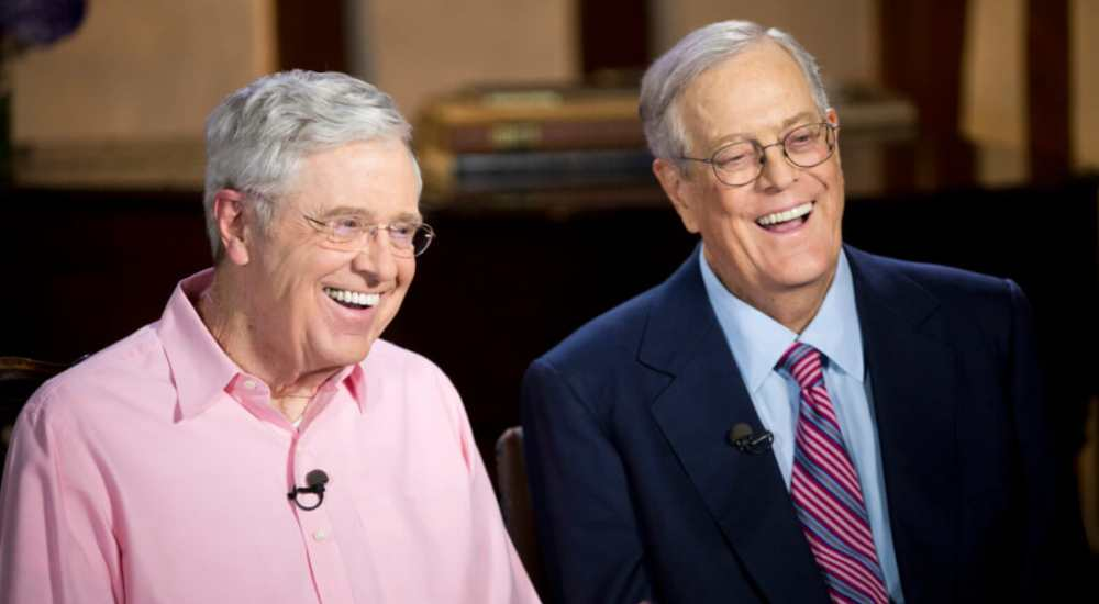 The Koch Brothers have stayed with the company after a fraternal feud over the control of the company | NewsShot | DKODING