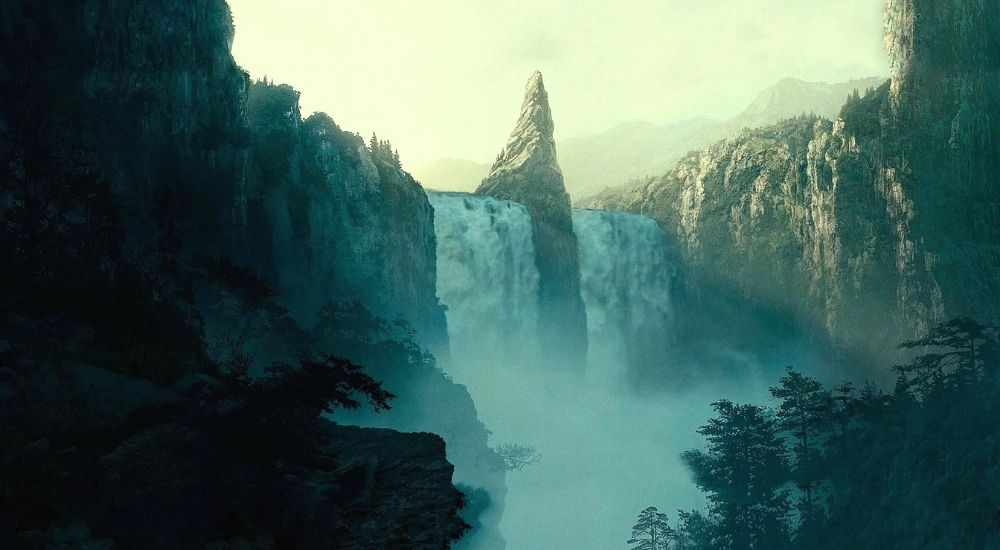 The Lord Of The Rings Waterfalls DKODING
