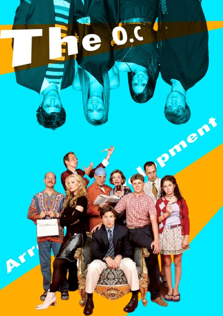 How similar are 'The O.C.' and 'Arrested Development'?