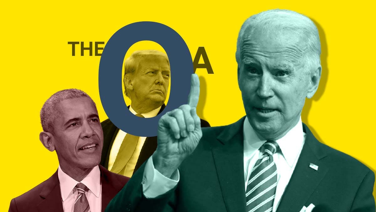 Find out why 'The O.A.' chose Joe Biden as the president and not Obama or Trump