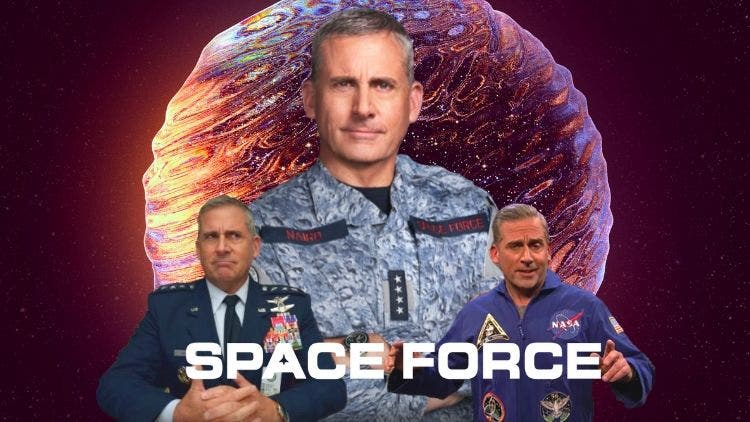 Steve Carell Takes The Office To Space – Space Force Is The Space Office