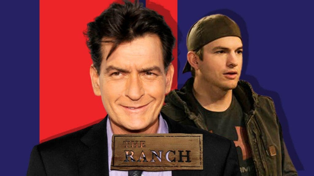 Charlie Sheen Grabs The Role Of Ashton Kutcher In The Ranch Reboot