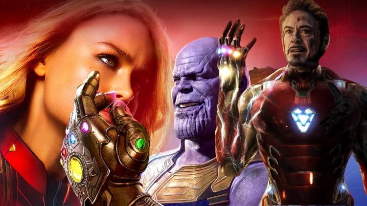 Have You Ever Wondered, During The Final Battle, Why Didn't Captain Marvel Wear The Infinity Gauntlet