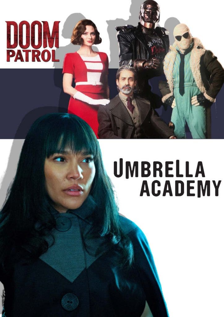 The Umbrella Academy' versus 'Doom Patrol
