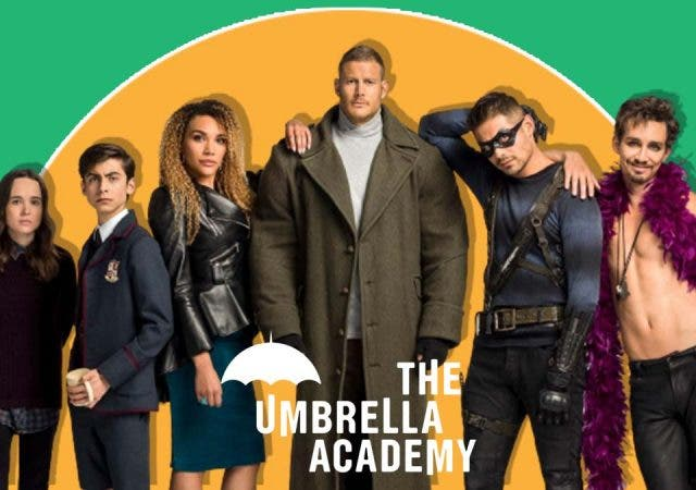 Umbrella Academy Jordan Clair Robbins