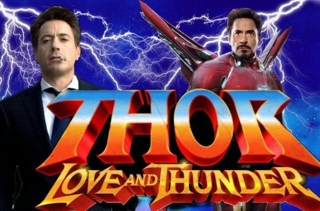 Thor Love and Thunder Iron Man DKODING