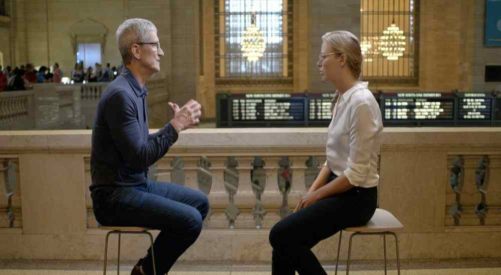 Tim Cook has the natural convincing ability which is a rare trait