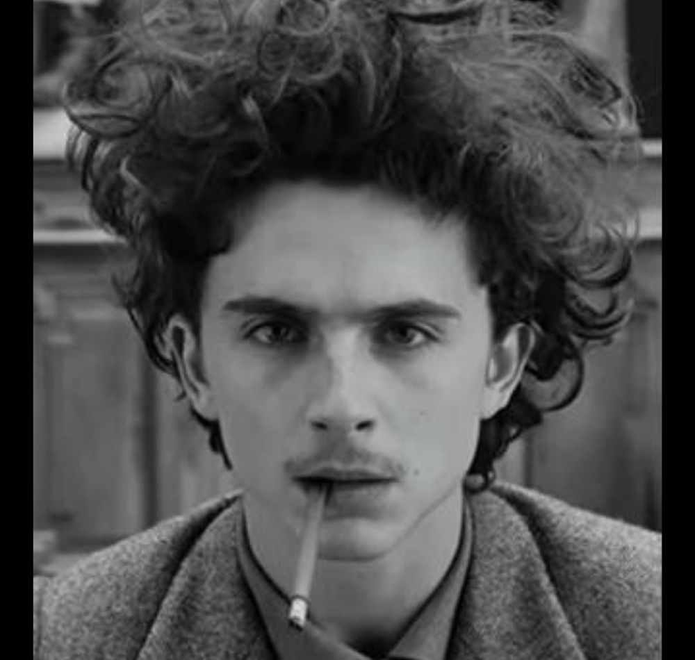 Timothee Chalamet in French Dispatch DKODING