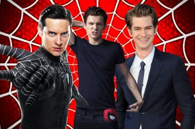 Tobey Maguire Tom Holland Andrew Garfield Spider Man