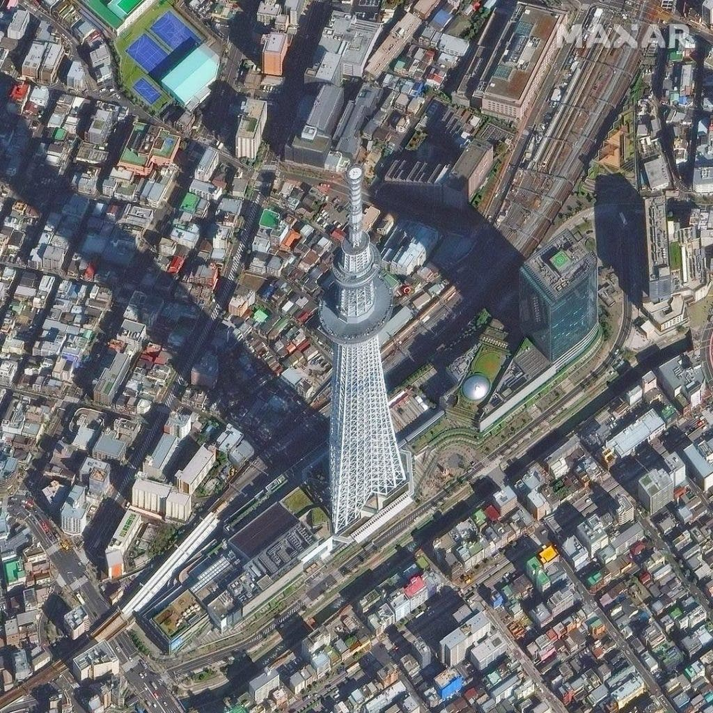 Tokyo Skytree COVID-19 Pictures