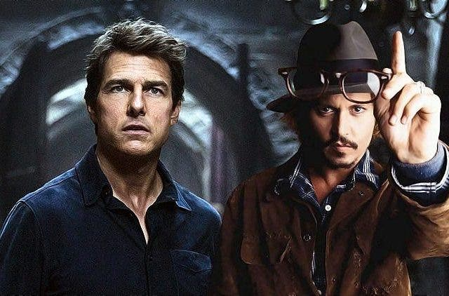 Tom Cruise Johnny Depp