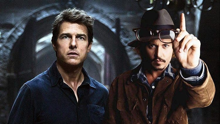 Tom Cruise's Failure Played A BIG Part In Johnny Depp's Downfall