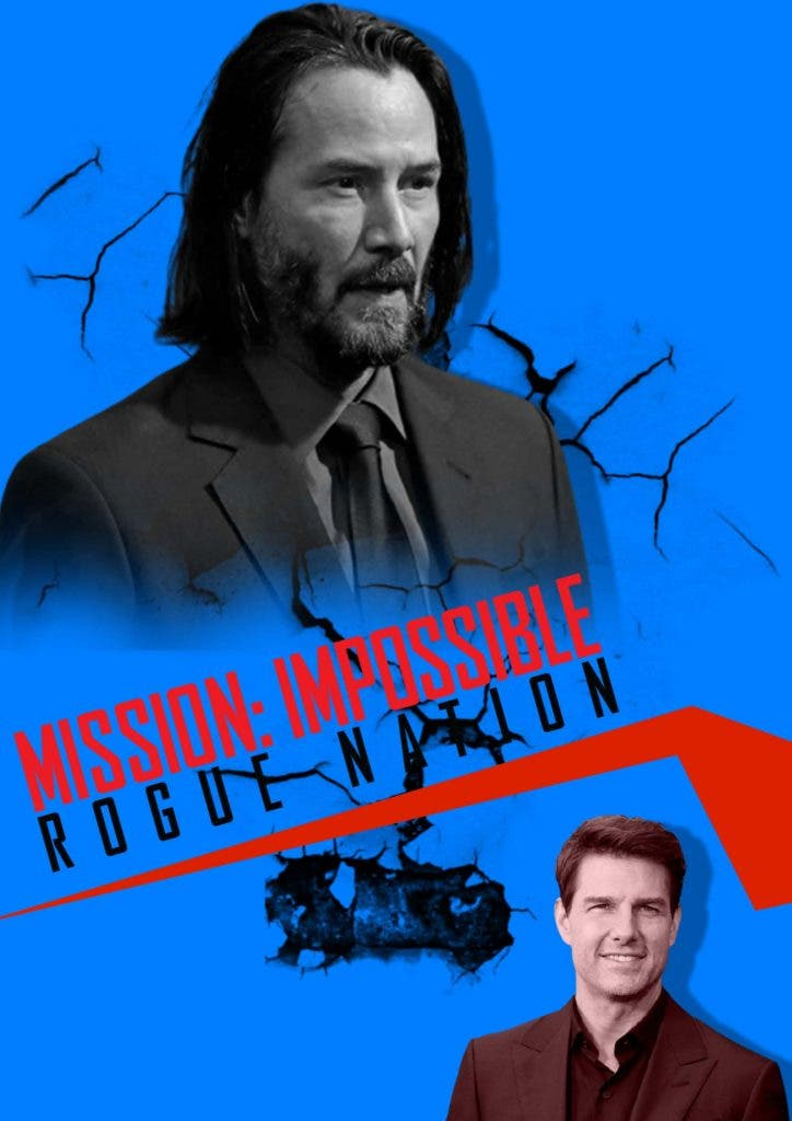 Tom Cruise makes fool proof plan to save 'Mission Impossible 7' from Keanu Reeves double punch