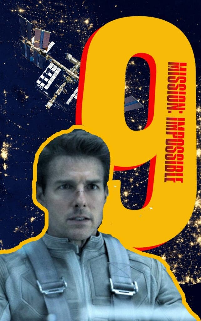 Mission Impossible 9 in space