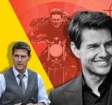 Tom Cruise cannot resist performing death-defying stunts