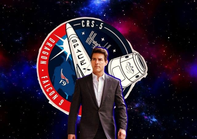 Tom Cruise Space