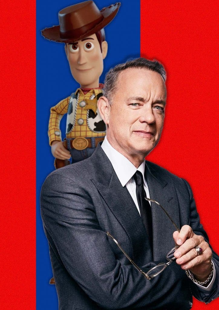 Tom Hanks was shockingly cast into 'Toy Story' because of his flop film