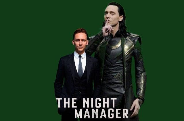 Tom Hiddleston The Night Manager or Loki