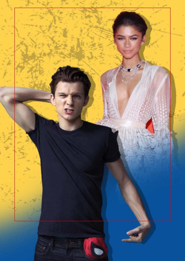 Tom Holland and Zendaya were spotted kissing