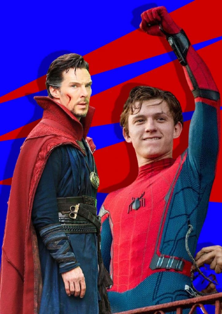 Tom Holland and Benedict Cumberbatch friends in real life