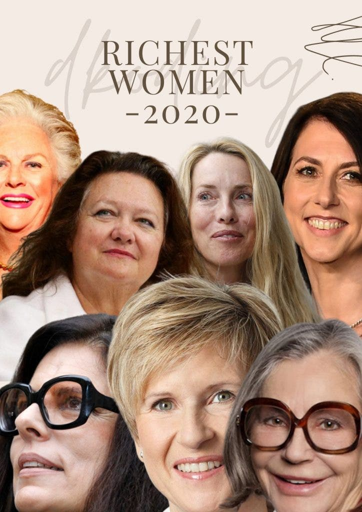 Who Is The World's Richest Woman 2020 Poster