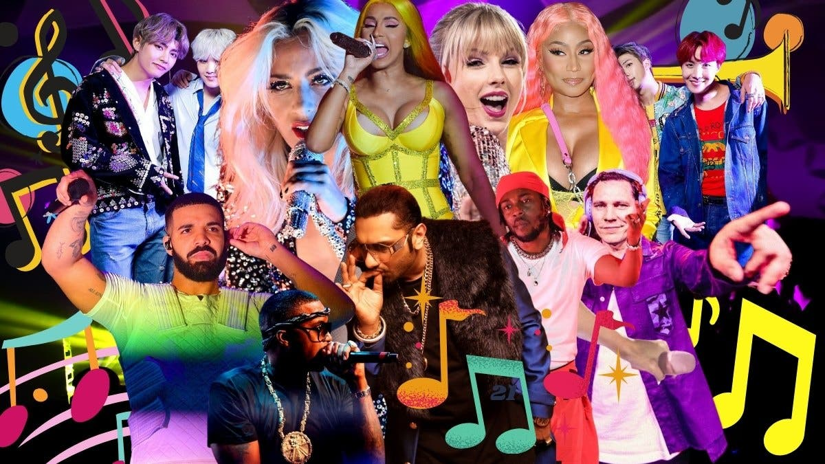 Top Global Music Icons of 2021