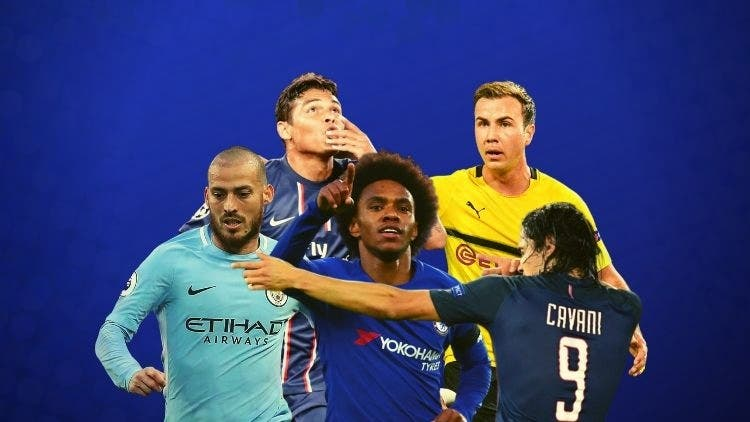 Cavani, David Silva, Gotze and Co. ⁠— Top Ten Free Agents Of Summer 2020