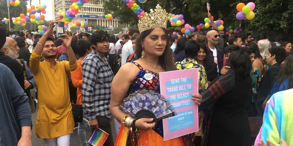 Send trans bill to select committee Delhi Queer Pride Parade 2019