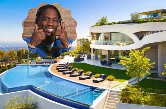 Travis Scott New Mansion DKODING