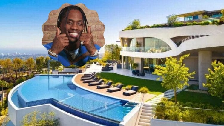A Look Inside Travis Scott's Sprawling New $23.5 Million Mansion: With Pics