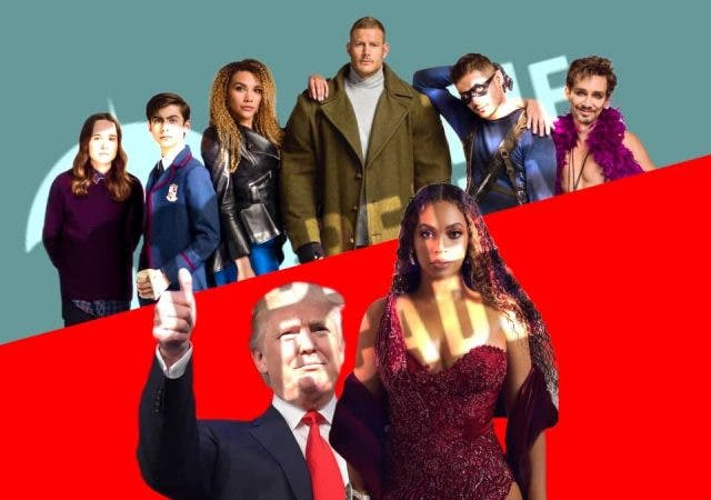 Trump Beyonce The Umbrella Academy Season 3