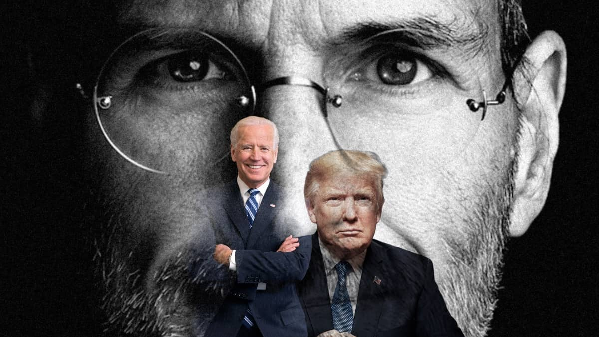Donald Trump Joe Biden Steve Jobs Winston Churchill