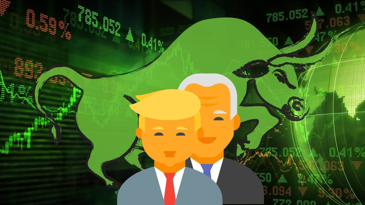 Why The US Stock Markets Hardly Give A Hoot Whether Trump Wins Or Biden - DKODING