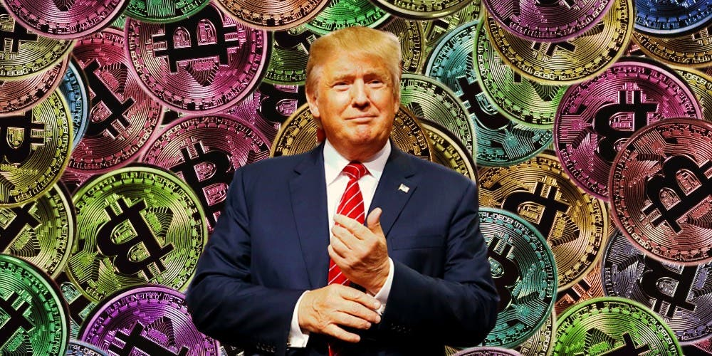 Sounds Like Trump Secretly Backs Bitcoin