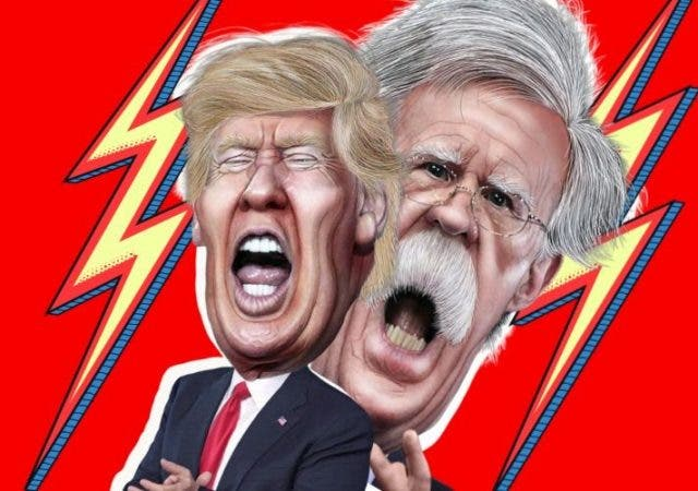Trump Bolton Book