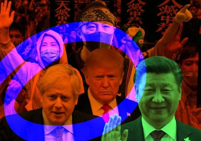 Trump China Hong Kong Cold War